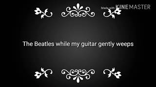 Video While my guitar gently weeps lyrics (Beatles Cover) download MP3, 3GP, MP4, WEBM, AVI, FLV Juli 2018