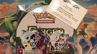 Unboxing! XY7 Ewiger Anfang Pokémon Booster Display Deutsch - Teil 1 von 2