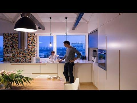 Loft in Bratislava | RULES architects | Bratislava, Slovakia | HD