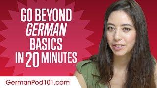 Speak German Beyond the Basics