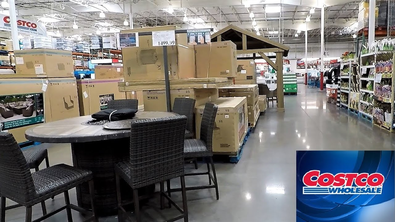 Costco Outdoor Patio Furniture Home Decor Spring Summer Shop With Me
