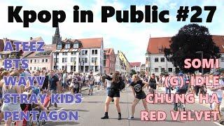 KPOP IN PUBLIC #27 (RedVelvet, WayV, Somi, Straykids, ChungHa,(G)-idle, Ateez, Pentagon, BTS)