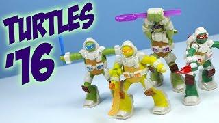 McDonalds 2016 Happy Meal Teenage Mutant Ninja Turtles in Space Collection