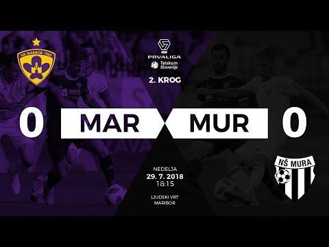 2.krog: Maribor - Mura 0:0 ; Prva liga Telekom Slovenije 2018/2019