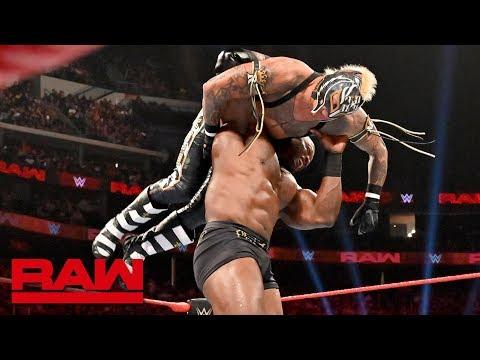 Bobby Lashley obliterates Rey Mysterio: Raw, July 8, 2019