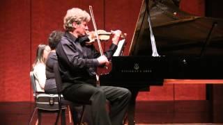 Wieniawski - Obertas (Mazurka) G-major | Piotr Milewski - violin, Sandra Rivers - piano