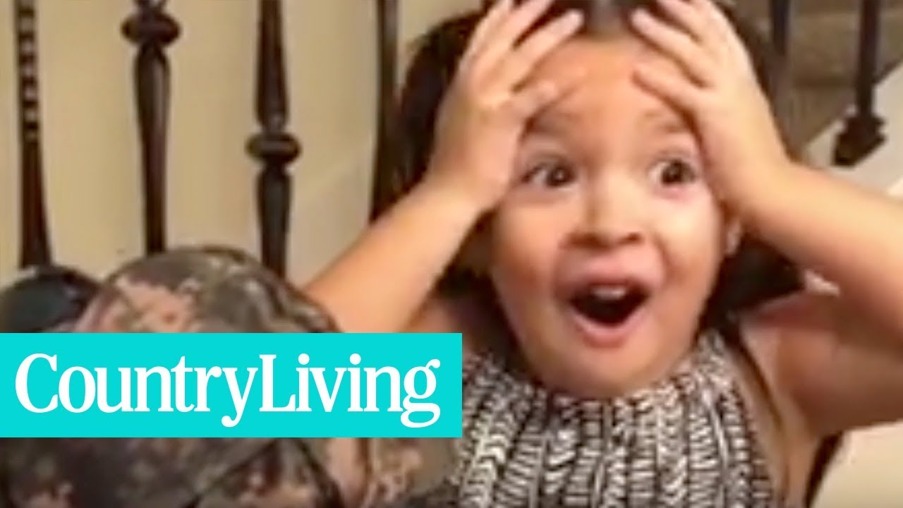 Get Ready To Cry Over This Dad's Heartwarming Surprise | Country Living
