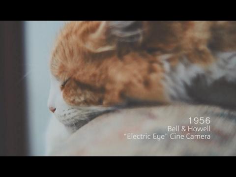 A History of Cameras - 1956, Electric Eye Cine Camera