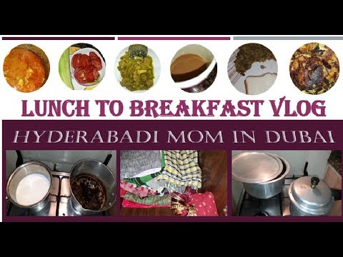 Housewife Lunch To Breakfast Routine l Vlog l What I Cooked