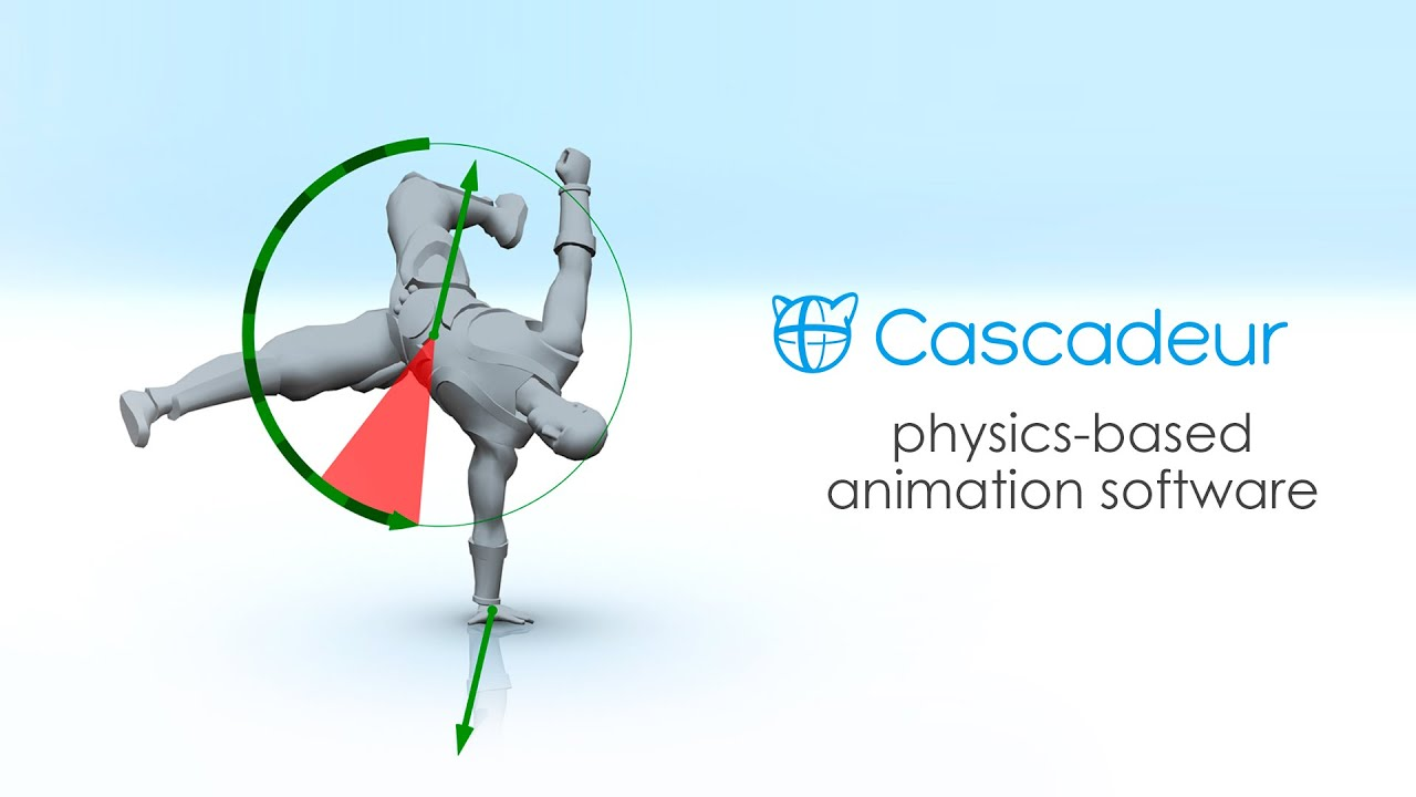 Check out neat physics-based animation app Cascadeur | CG