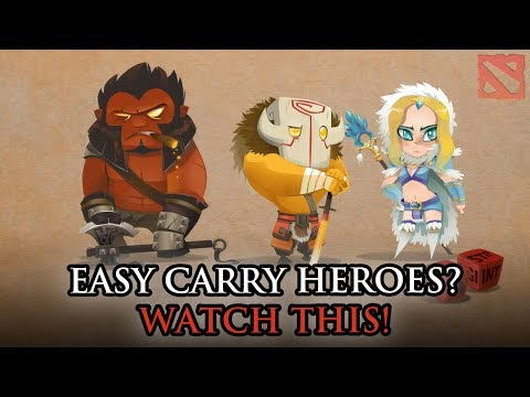 Top 5 Best And Easiest DotA 2 Safelane Carry Heroes For Beginners
