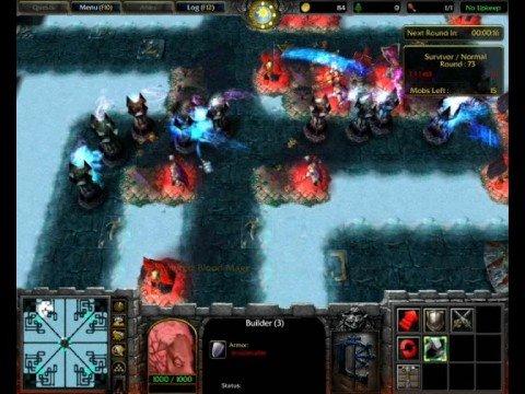 Warcraft Iii Frozen Throne Tower Defense Youtube