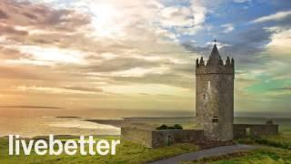 바이올린, 백파이프와 편안한 아일랜드 전통 음악, 플루트 악기 셀틱