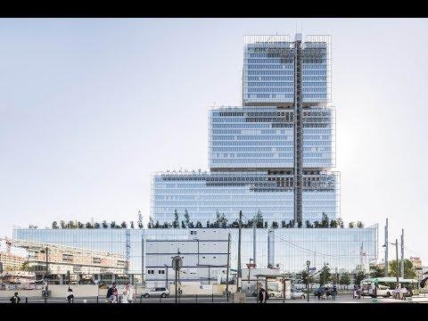 Paris Courthouse | Renzo Piano Building Workshop | Paris, France | HD