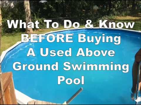 How To Buy A Used Above Ground Pool Pt 1