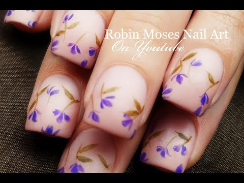 Falling Lavender Flowers