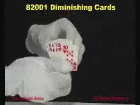 82001 Diminishing Cards