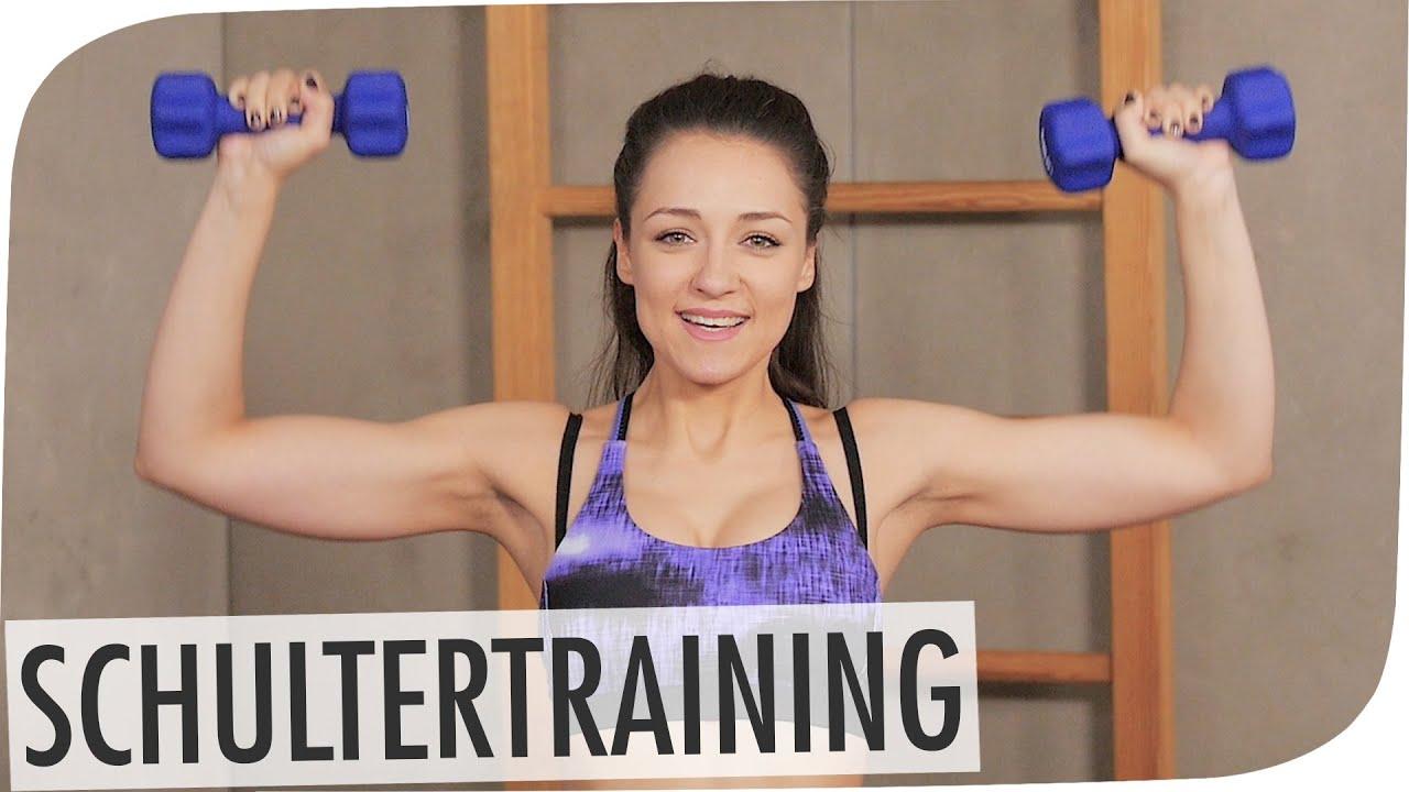 #flipfit   Schulter-Workout mit Regina Hickst - YouTube