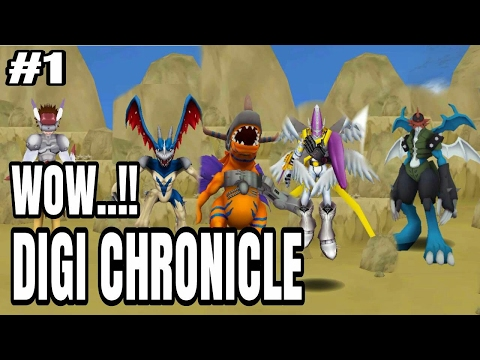 AKHIRNYA DIGIMON MAMPIR DI PLAYSTORE - DIGI CHRONICLE - INDONESIA ANDROID GAMEPLAY
