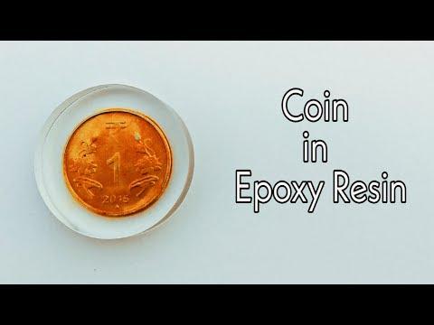 DIY Coin in Epoxy Resin | Epoxy Resin Coin | Resin Coin