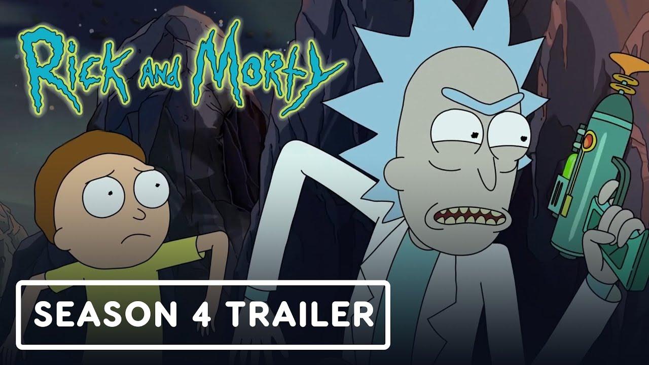 Rick And Morty Burning