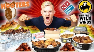 THE ULTIMATE WING CHALLENGE! (8,000+ CALORIES)