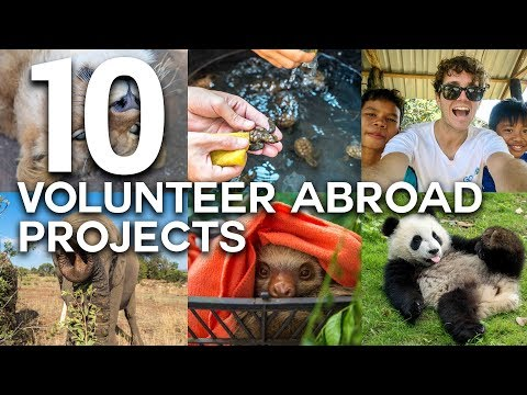 10 LIFE CHANGING VOLUNTEER ABROAD EXPERIENCES