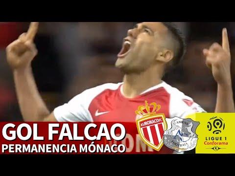 El polémico gol de Falcao que le da la permanencia al Mónaco | Diario AS