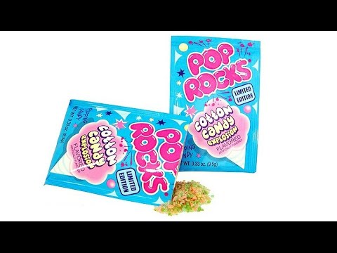 Bonbon Pop Rocks - Cotton Candy - USA