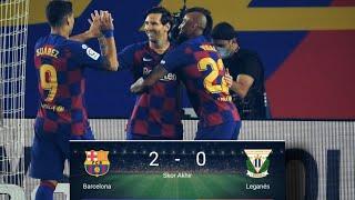 Barcelona vs leganes 2-0 • highlights & all goals 17-06-2020 #barcelona#leganes#highlights#goals 2020, copa del...