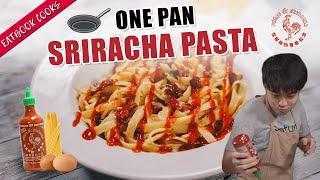 We Made One Pan Sriracha Pasta!   Eatbook Cooks   EP 33