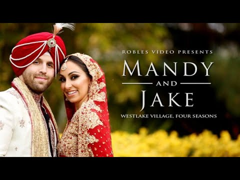 Mandy Bawja & Jake Gibbens - Cinematic Short Reel (Sangeet & Sikh Ceremony)