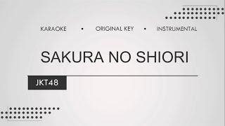 Download lagu Sakura No Shiori - JKT48 (Karaoke | Original Keys | Instrumental)