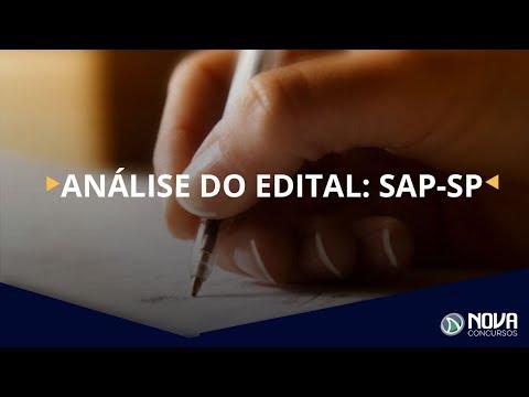Análise do edital SAP-SP - saiba tudo sobre o concurso com o Prof. Ângelo Rigon