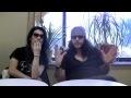 Capture de la vidéo Bxi (Boris & Ian Astbury) - Nyc Press Interview 9-6-10 (Southern Lord)
