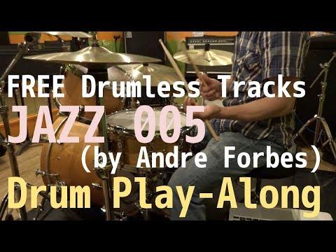 "FREE Drumless Tracks: ""Jazz 005"" / Drum Play-Along"