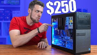 $250 Gaming PC Build Guide With MODDED Dell Optiplex