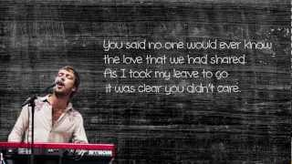 Mumford and Sons Where are you now - Lyrics (HD)