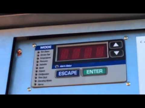 Carrier comfort link scrolling control panel