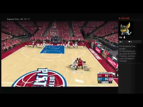 NBA 2k17 Rebuild #2 Detroit Pistons pt 2 ending