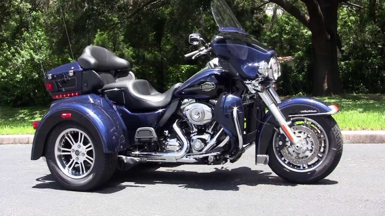 new 2013 harley davidson trike 3 wheeler motorcycle for sale youtube. Black Bedroom Furniture Sets. Home Design Ideas