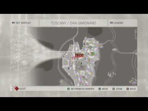 Assassins Creed 2 Tuscany Feather Locations