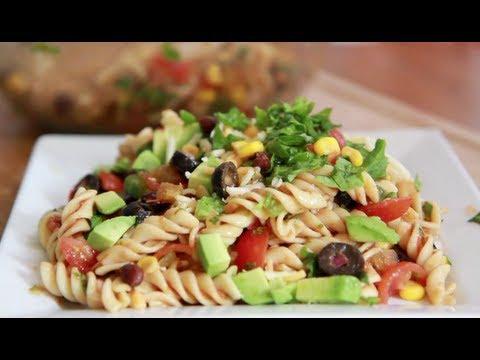 Taco Pasta Salad Recipe - Light & Delicious!