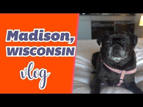 Madison, Wisconsin Travel Vlog