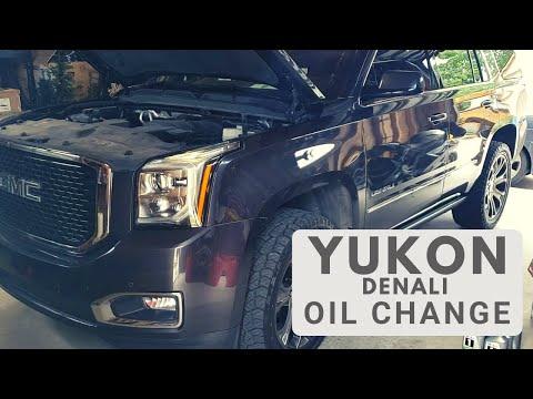 2015 - 2020 GMC Yukon Denali 6.2L V8 Oil Change