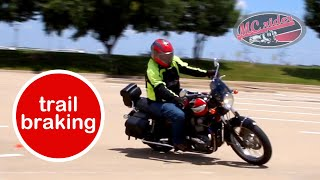 Trail braking: Should you learn this? See what this MSF instructor says.