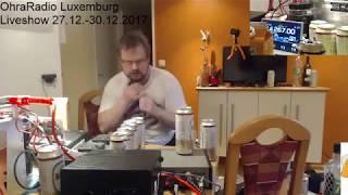 OhraRadio 2017 Osa 13: 29/12/17 19:20 Luxemburg -  yhteyksiä 20m/17m/15m/12m/10m/6m
