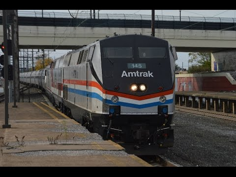 Full HD 60FPS: Riding Aboard the 2016 Amtrak Autumn Express including Rare Mileage 10/29/16