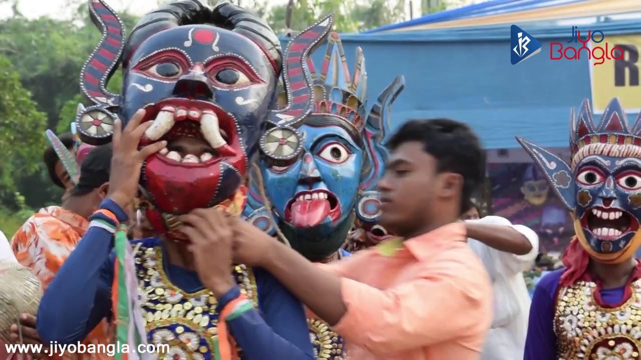MUKHA | Kushmandi Masks | Art of Bengal | Jiyo Bangla - YouTube