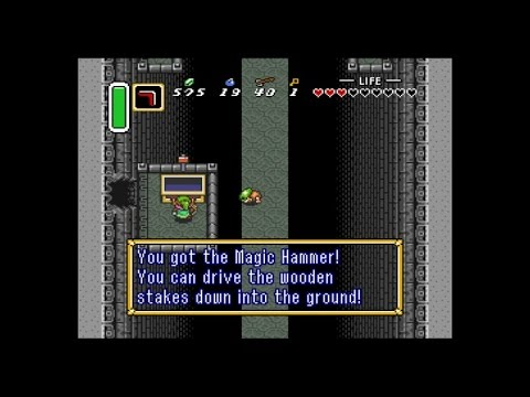 Let's Play A Link to the Past Dark World Dungeon 1